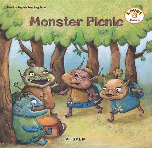 Fun Fun English Reading Book Level 2-6 : Monster Picnic (Student Book 1권 + Activity Book 1권 + Audio CD 1장)