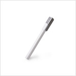 Moleskine Classic Roller Pen, White, Medium Point (0.7 MM), Black Ink (Other)