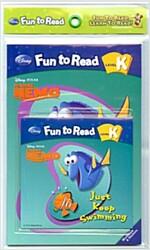 Disney Fun to Read K : Just Keep Swimming (Paperback + Workbook + Audio CD)