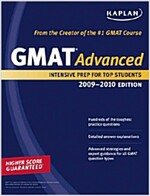 Kaplan GMAT Advanced 2009-2010 (Paperback)