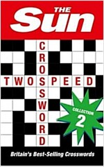 The Sun Two-Speed Crossword Collection 1 : 160 Two-in-One Cryptic and Coffee Time Crosswords (Paperback, Bind-up edition)