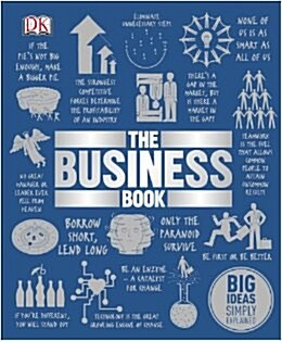 The Business Book : Big Ideas Simply Explained (Hardcover)
