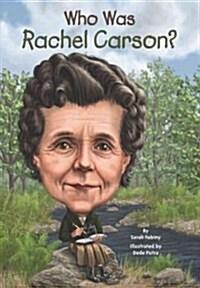 Who Was Rachel Carson? (Paperback)