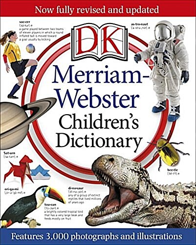 Merriam-Webster Childrens Dictionary: Features 3,000 Photographs and Illustrations (Hardcover)