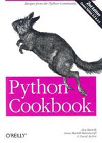 Python cookbook 2nd ed