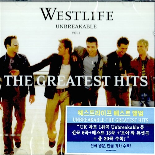 Westlife - Unbreakable : The Greatest Hits