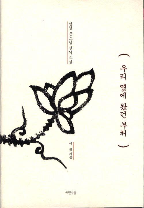 우리 옆에 왔던 부처 : 성철 큰스님 전기소설