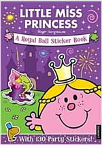 Little Miss Princess a Royal Ball Sticker Book (Paperback)