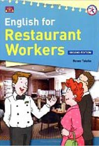 English for Restaurant Workers with Audio CD and Answer Key (2nd Edition, Paperback + CD 1장)