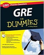 GRE: 1,001 Practice Questions for Dummies [With Free Online Practice] (Paperback)