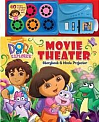 Dora the Explorer Movie Theater Storybook & Movie Projector (Hardcover, Toy)