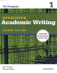 Effective Academic Writing Second Edition: 1: Student Book (Package, 2nd edition)