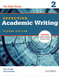 Effective Academic Writing Second Edition: 2: Student Book (Package)