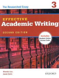 Effective Academic Writing Second Edition: 3: Student Book (Package)