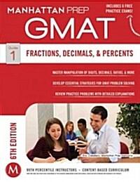 [중고] GMAT Fractions, Decimals, & Percents (Paperback, 6)