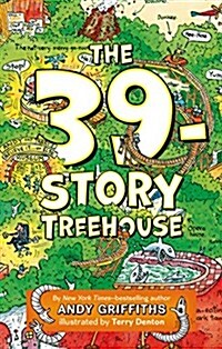 The 39-Story Treehouse: Mean Machines & Mad Professors! (Hardcover)