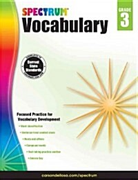 Spectrum Vocabulary, Grade 3 (Paperback)