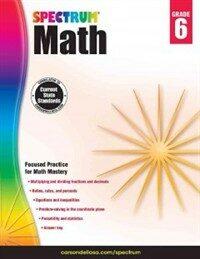 Spectrum Math Workbook, Grade 6 (Paperback)
