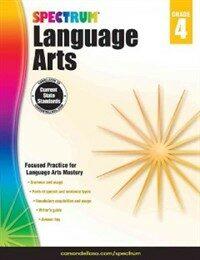 Spectrum Language Arts, Grade 4 (Paperback)