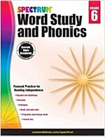 Spectrum Word Study and Phonics, Grade 6 (Paperback)