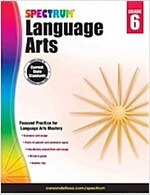 Spectrum Language Arts, Grade 6 (Paperback)