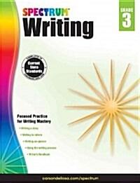 Spectrum Writing, Grade 3 (Paperback)