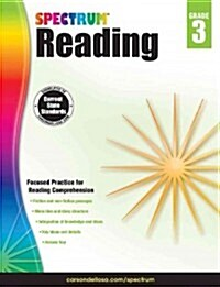[중고] Spectrum Reading Workbook, Grade 3 (Paperback)