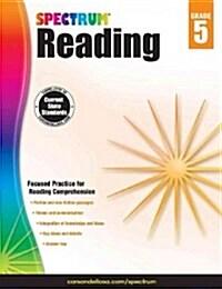 Spectrum Reading Workbook, Grade 5 (Paperback)