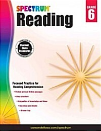 Spectrum Reading Workbook, Grade 6 (Paperback)