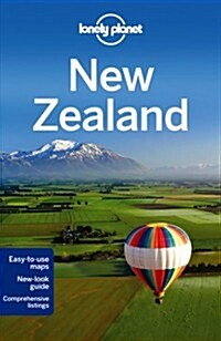 [중고] Lonely Planet New Zealand [With Pull-Out Touring Map] (Paperback, 17)