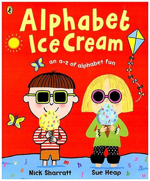 Alphabet Ice Cream : A Fantastic Fun-filled ABC (Paperback)