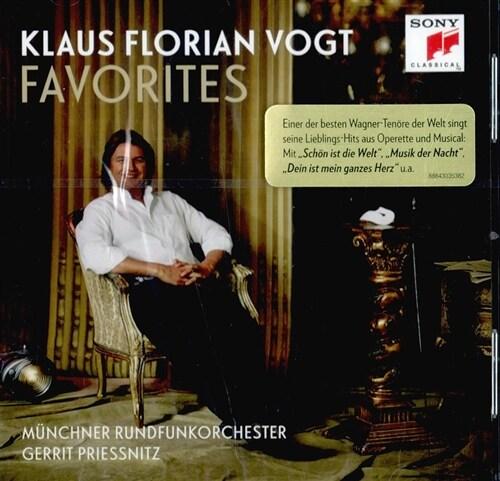 [수입] Klaus Florian Vogt - Favorites (레하르, 번스타인, 쇤버그의 노래)