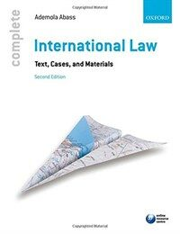 International law : text, cases, and materials 2nd ed