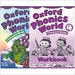 [세트] Oxford Phonics World Level 4 SET (Studentbook + Workbook)