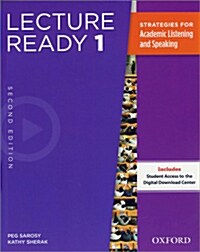 Lecture Ready 1 : Student Book (Paperback + Online Access Code, 2nd Edition)