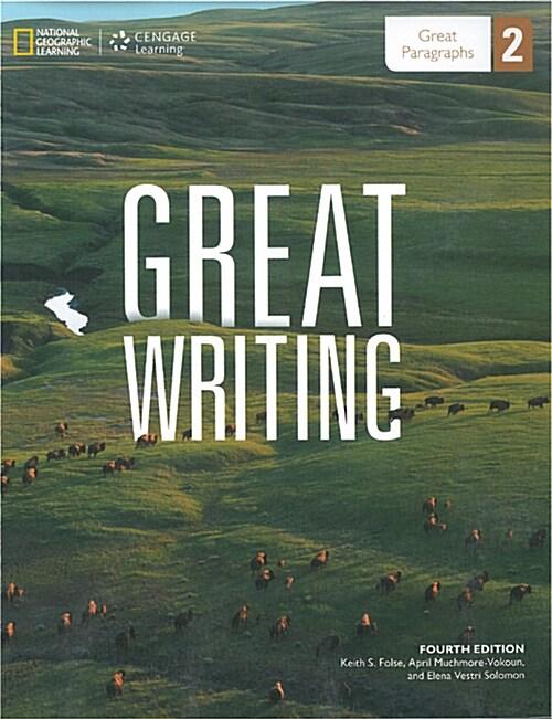 [중고] Great writing 2 : Student Book + Online Workbook (Paperback)