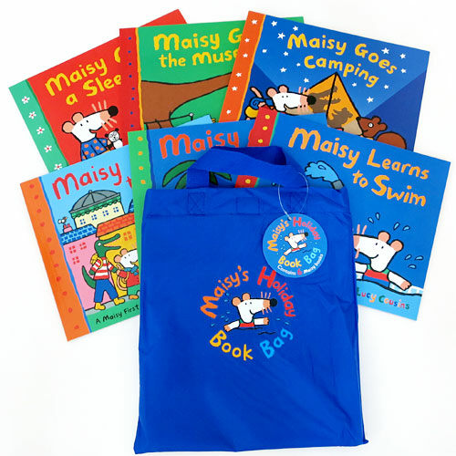 Maisys Holiday Book Bag 메이지 6종 + 가방 세트 (Paperback 6권)