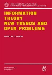 Information theory : new trends and open problems