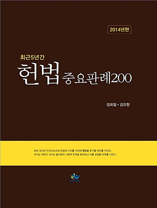 2014 헌법중요판례 200