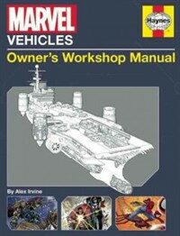 Marvel Vehicles: Owner's Workshop Manual (Hardcover)