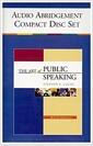[중고] The Art of Public Speaking (Audio CD, 9th, Abridged)