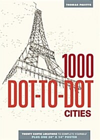 1000 Dot-To-Dot: Cities (Paperback)