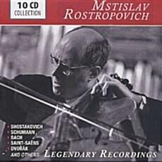 [수입] 로스트로포비치의 전설의 레코딩 [10CD]