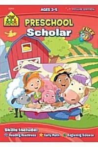 Preschool Scholar Ages 3-5 (Paperback)