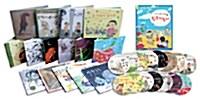 국시꼬랭이 동네 시리즈 15권 + DVD 세트