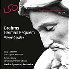 [수입] 브람스 : 독일 레퀴엠 Op.45 [SACD Hybrid]