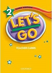 Lets Go: 2: Teacher Cards (Cards)