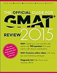 [중고] The Official Guide for GMAT Review (Paperback, 14, 2015)