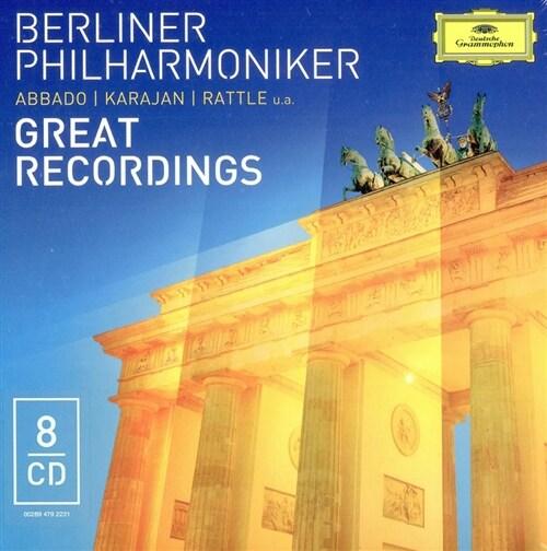 [수입] 베를린 필 8개의 위대한 녹음 [8CD]