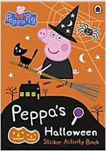 Peppa Pig: Peppa's Halloween Sticker Activity Book (Paperback)